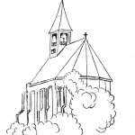 Schets kerk